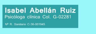 Isabel Abellán Ruiz Psicologo